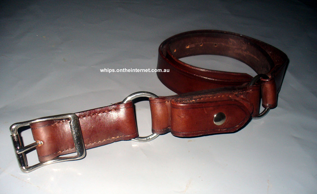 australian leather belts